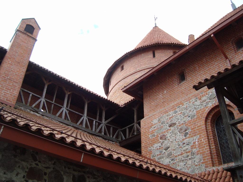 Vista de las torres desde el interior
