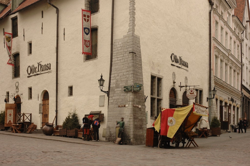 Restaurante medieval Olde Hansa