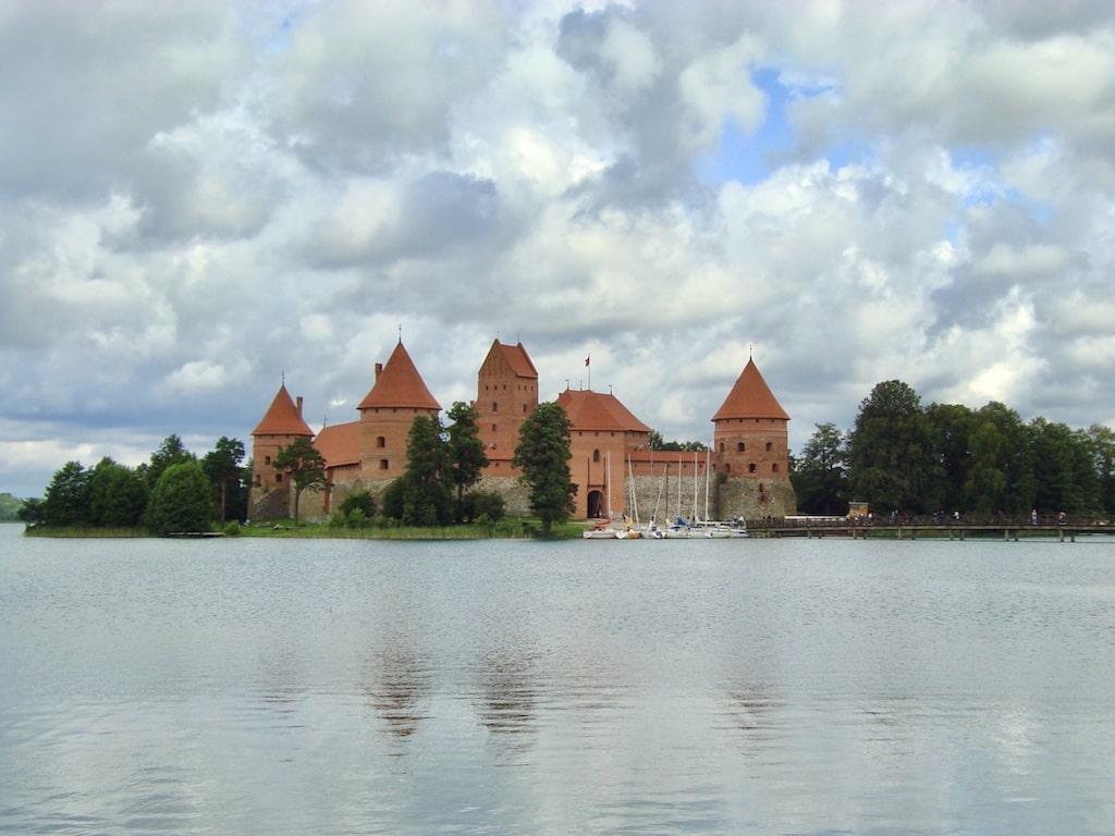 Castillo de Trakai, uno de los lugares qué ver en los Países Bálticos en 10 días