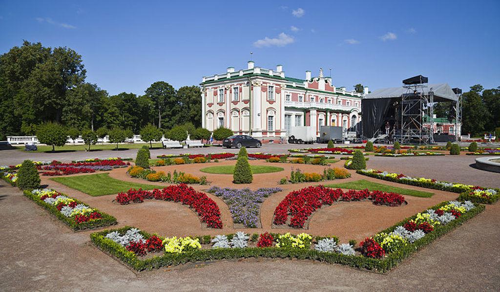 Palacio Kadriog en los alrededores de Tallin