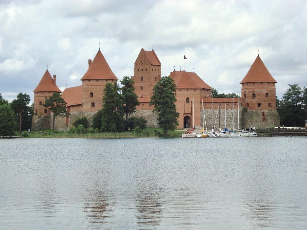 Castillo de Trakai Lituania