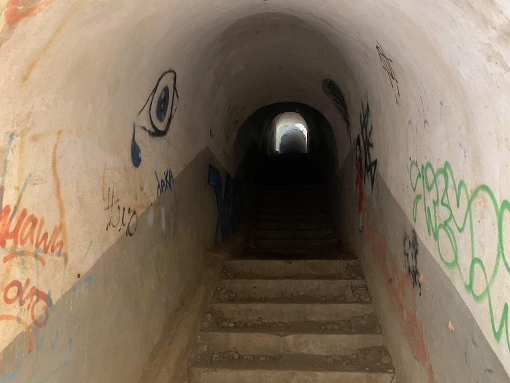 Túneles de la batería de Cabo Billano