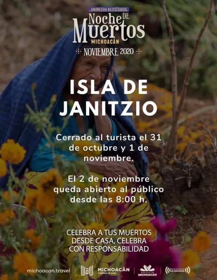 Actividades para el Día de Muertos en la Isla de Janitzio