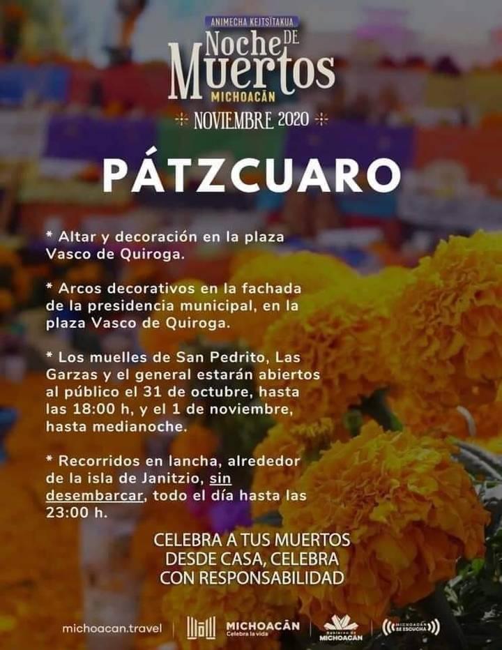 Actividades para el Día de Muertos en Pátzcuaro