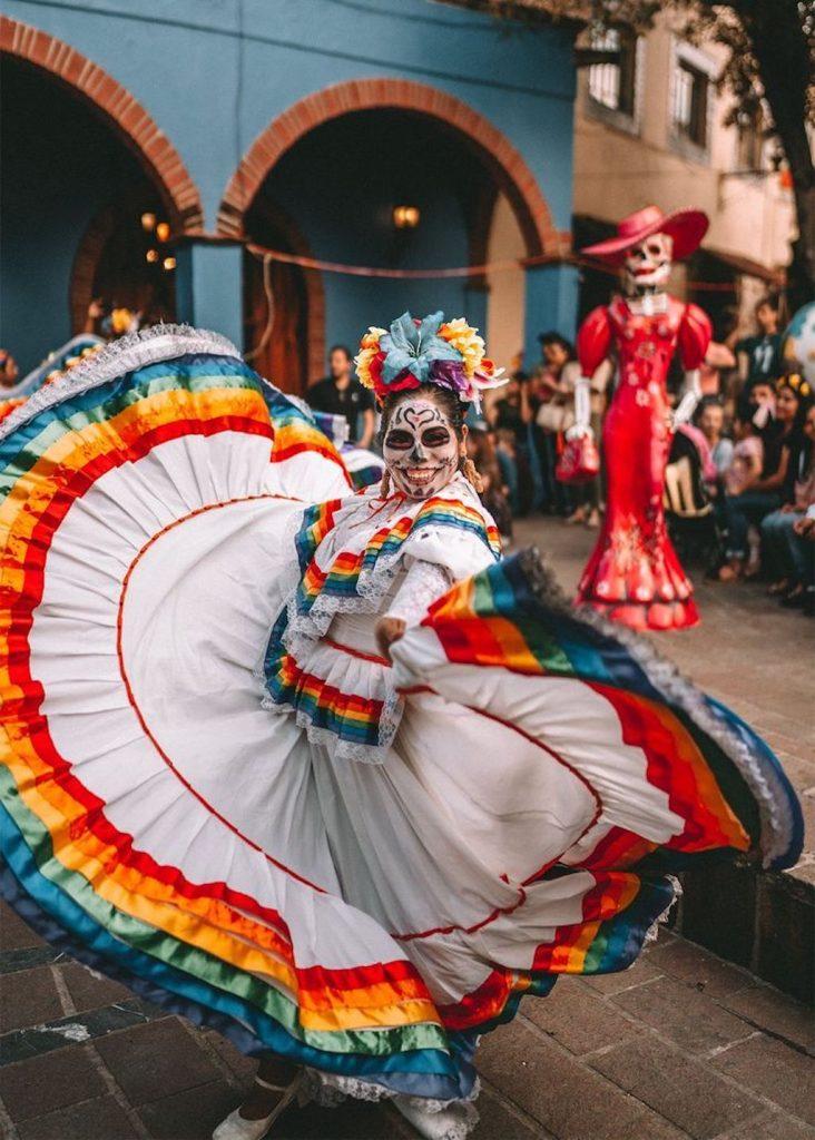 Fiesta de Día de Muertos en México