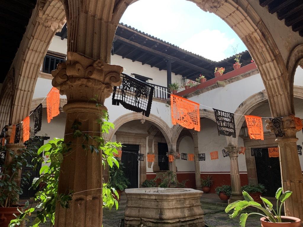 Casa de los Once Patios (Pátzcuaro, Michoacán)
