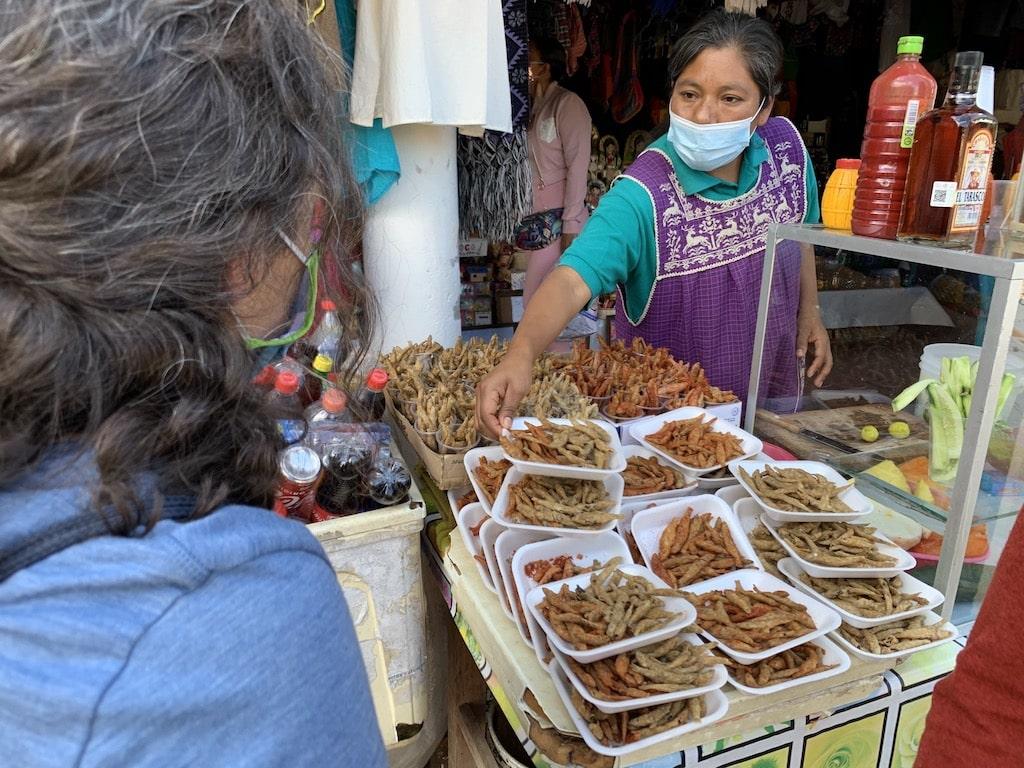 Charales, comida típica en el Lago de Pátzcuaro