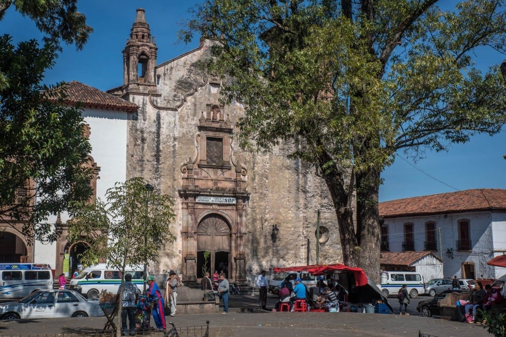 Plaza Gertrudis Bocanegra en Pátzcuaro