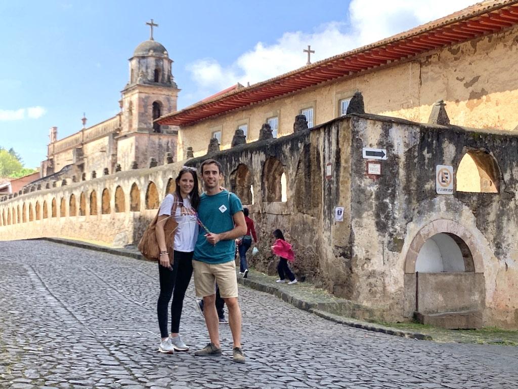 Templo el Sagrario en el Pueblo Mágico de Pátzcuaro